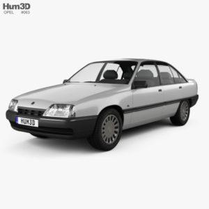 Автоковрики для Opel Omega