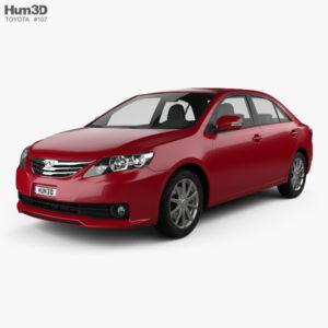 Коврики для Toyota Allion